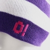 Шапка O! Stripe White/Purple/Pink 2010 г артикул 603w.
